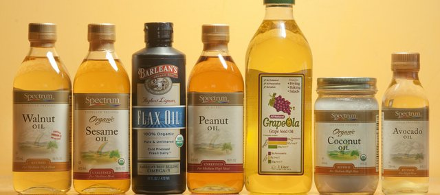 There are a variety of different oils that can be used for cooking in addition to olive oil. These are different kinds from the Merc.