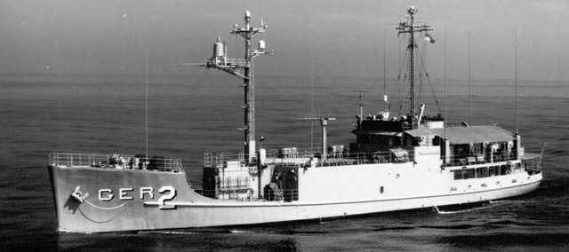 A converted Army cargo ship, the lightly armed USS Pueblo, was outgunned by the North Korean vessels deployed against it.