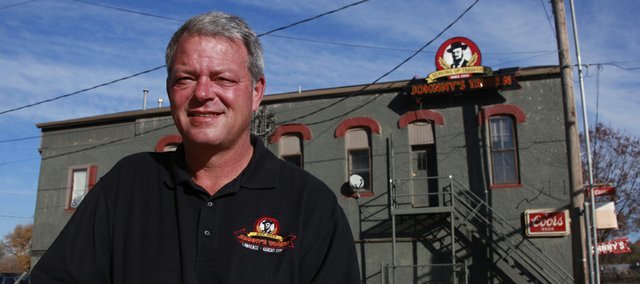 Rick Renfro, owner of Johnny's at 401 N. Second St. in North Lawrence. Since buying the bar in 1978, Renfro and his partners have expanded to eight locations.