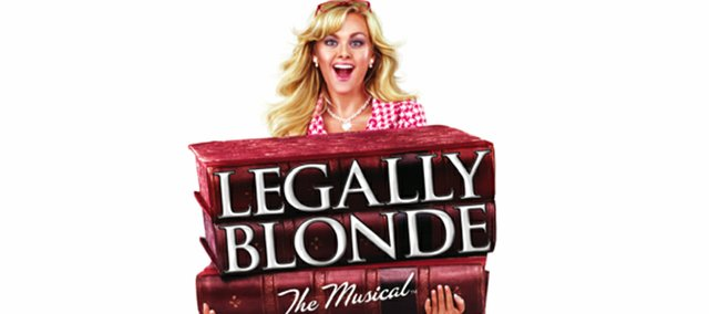 """Legally Blonde The Musical"" will be at the Lied Center at 7:30 p.m. Tuesday, Dec. 7."
