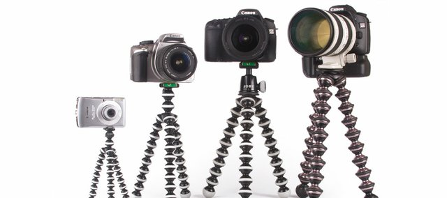 Photo courtesy of Joby.Joby's family of Gorillapods offer solutions for supporting all types of devices, cameras and smartphones. The flexible legs can wrap around objects enabling a photographer to steady a camera just about anywhere. Easily fits into a Christmas stocking.