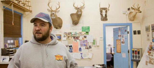 Santa Fe Trail Meats owner Aaron Higbie estimates that his shop processes about 400 deer during the hunting season that runs from September to January.