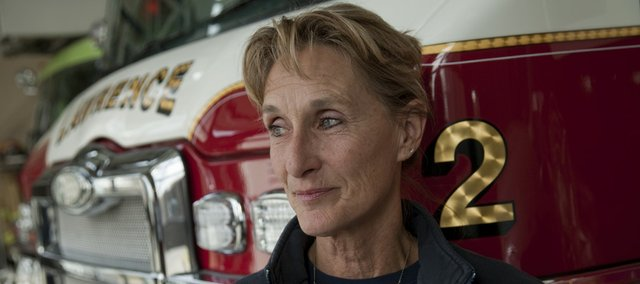 Longtime fire Captain Lexie Engleman is retiring on her 60th birthday Saturday after serving almost 30 years with the department. Engleman joined the Lawrence fire department in 1981 and was one of the first female firefighters in the department's history.