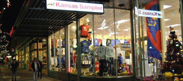 The owner of Kansas Sampler, 921 Mass., says the store has been charging 9.85 percent sales tax on purchases. The legal rate for the downtown area is 8.85 percent.