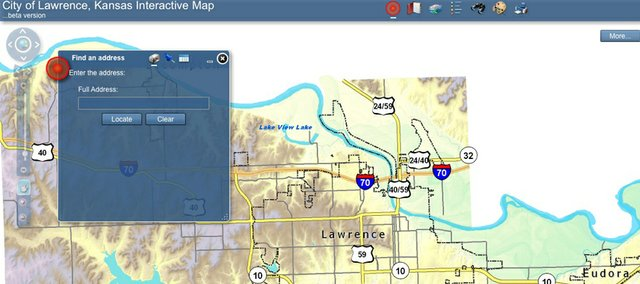 The city of Lawrence unleashed a beta version of an interactive map loaded with information in the city's geographic information system, or GIS. The goal: Take the same facts used for everyday decisionmaking and information at City Hall, and get it into the hands — and through Internet browsers — of the public.
