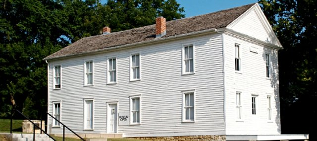 Constitution Hall State Historic Site in Lecompton