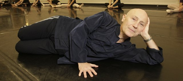 Kansas University Professor of Dance Patrick Suzeau, 59, a Montreal native, began his dance career at age 15.