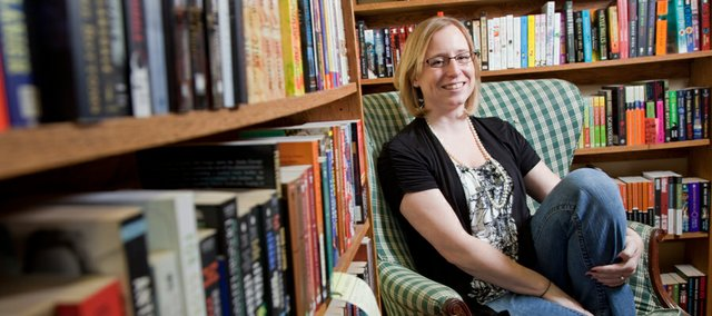 Mary Stone Dockery, is one of two winners of this year's Langston Hughes award for writing.