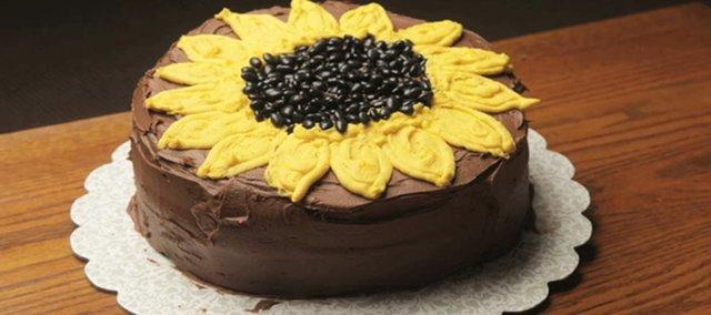 A Kansas Day cake.