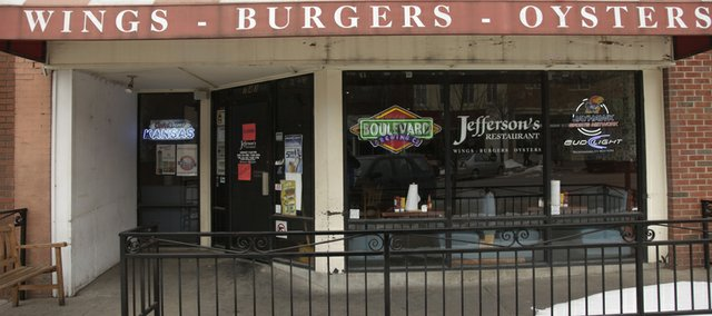 Jefferson's, 743 Mass., was seized by the state Tuesday, Feb. 8, 2011 for failure to pay nearly $47,000 in taxes.