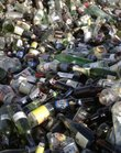 Glass bottles pile up at the 19th Street recycling center in this file photo from December 2010.