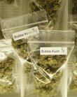 Marijuana is shown for sale at the San Francisco Medical Cannabis Clinic in San Francisco in this Associated Press file photo from October 16, 2010.