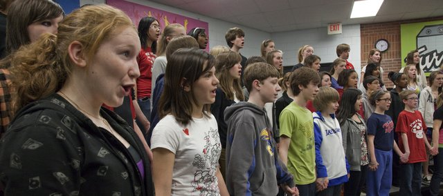 The Lawrence Children's Choir  will be having a 20th anniversary concert on March 5. Co-founder and artistic director Janeal Krehbiel is concerned that funding cuts to the Kansas Arts Commission could jeopardize the choir's future.