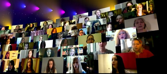 """The Virtual Choir launched a year ago with 185 people singing """"Lux Aurumque"""" — with words written by Lawrence's Tony Silvestri. The Virtual Choir 2.0 will debut a performance of another of Silvestri's songs, """"Sleep,"""" Thursday night."""