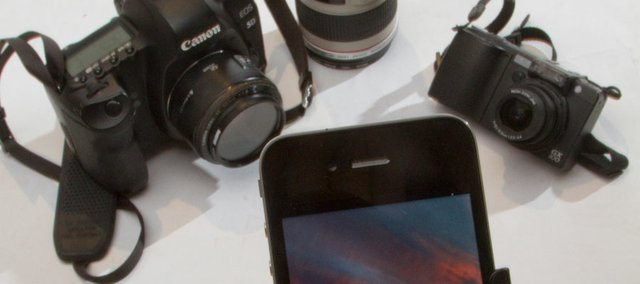 Depending on your camera needs, the camera capabilities in your cell phone may be all you require. Other alternatives are the popular and pocketable point-and-shoots and the top of the line DSLR with interchangeable lenses.