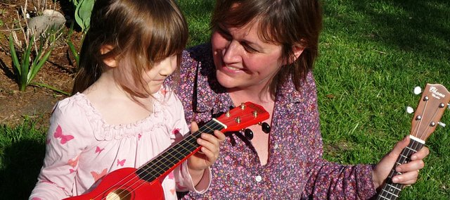 MAW's Katie Conrad loves to do musical things with daughter Rose, 3.