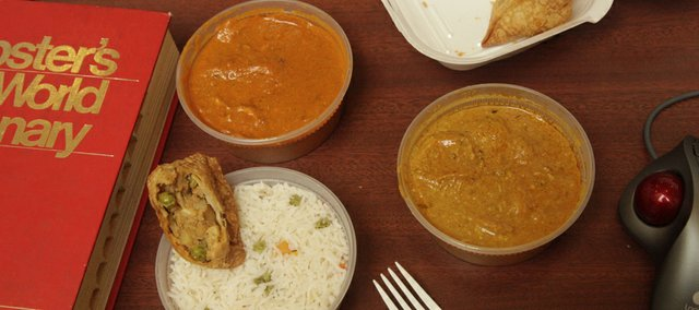 Sammi Sangam's Curry in a Hurry, 1111 Mass., offers quick takeout Indian entrees, snacks and beverages along with everyday convenience fare including soda, candy and chips. It's the kind of food that's perfect for a workday desk lunch.