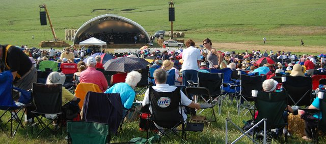Between June 2 and June 12, 2011, Emporia will host Celebrate the Flint Hills Week, a series of events and activities centered on Symphony in the Flint Hills, a concert on June 11 by the Kansas City Symphony in the tallgrass prairie.