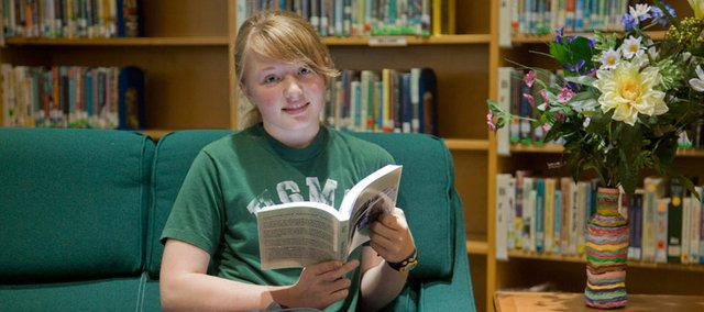 "Kennedy Younger Dold, an eighth-grader at South Junior High School, has had her book, ""Amelia and the Heroes of Old,"" published by the KU Bookstore as part of a contest for Lawrence Public School students."