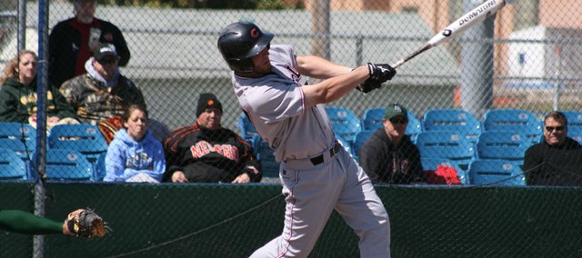 Lawrence High grad Nick DeBiasse hit .457 with nine home runs, 57 RBIs and a .552 on-base percentage for Central Missouri State his senior season.