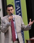 Congressman Kevin Yoder was at Lawrence Memorial Hospital for the Lawrence Chamber of Commerce&#39;s &quot;Conversation with Congressman Kevin Yoder&quot; Friday, June 10, 2011.