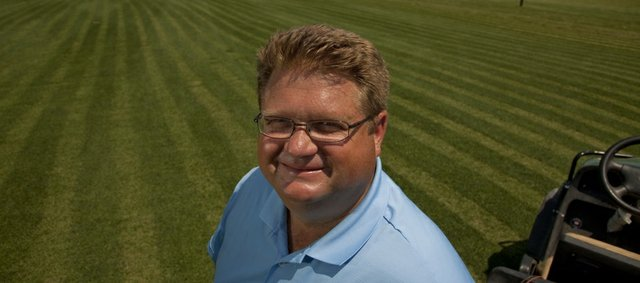 Darin Pearson is the new superintendent for Eagle Bend Golf Course.