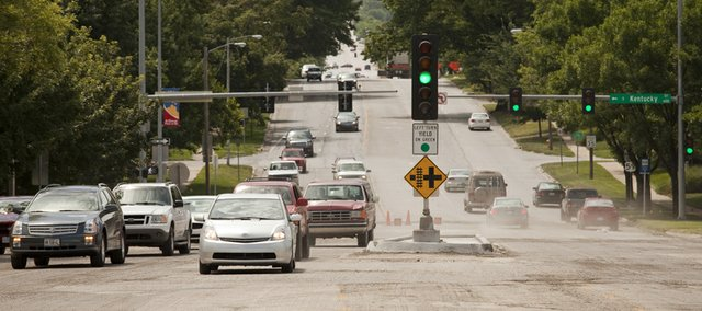Work on a section of Sixth Street near downtown is expected to delay traffic for several days.