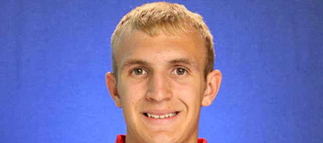 Wichita North's Conner Frankamp, who will graduate in 2013, committed to the Kansas men's basketball team on Sunday.