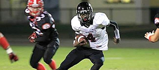 Bilal Marshall, a 6-foot-3, 170-pound dual-threat QB from Dade Christian High in Hialeah, Fla., orally committed to the Kansas football team on Wednesday.
