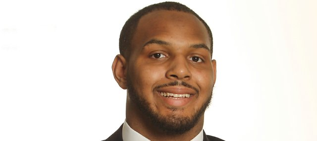 Defensive end D.J. Marshall has left the Kansas football team.