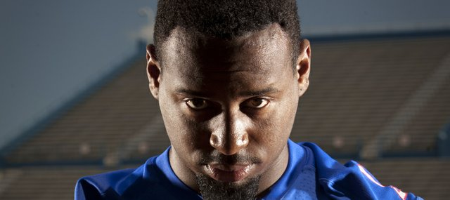 Kansas running back James Sims.
