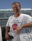 Bob Vorturba is the founder of One Million Acts of Kindness, a group that promotes charity and helping others. He travels around to college campuses across the country and was in Lawrence Thursday, August 11, 2011.