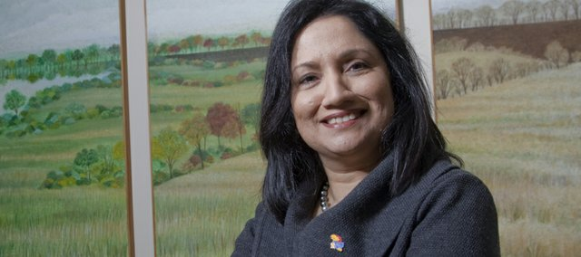Neeli Bendapudi, who received her doctorate from KU in 1994, is returning to KU as the new dean of the KU School of Business.