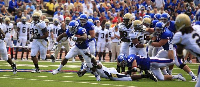Kansas freshman running back