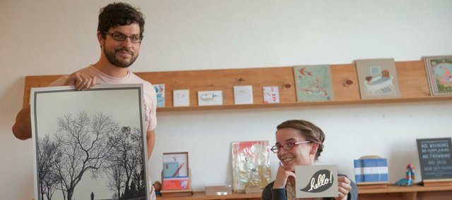 WonderFair , 803 1/2 Mass. St., is changing with new owners Paul DeGeorge and Meredith Moore.