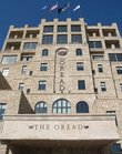 An exterior view of The Oread, a new hotel at 12th and Indiana streets.