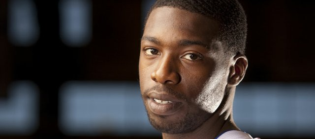 Kansas junior guard Elijah Johnson.