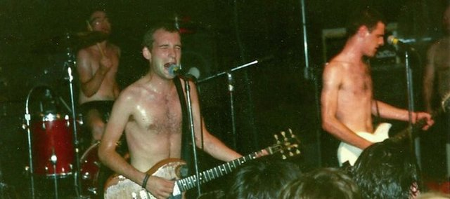 People interested in telling their own story of The Outhouse during its days as a music venue are encouraged to bring video, posters and  photos like this one of Fugazi submitted by Greg Blair.