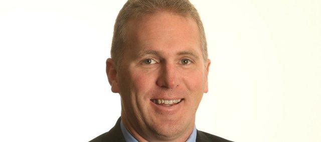 Kansas offensive coordinator Chuck Long.