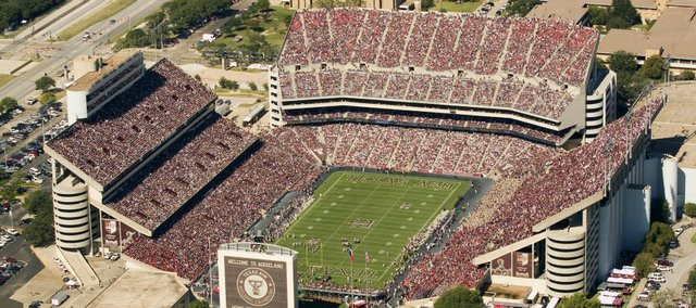 Kyle Field, home of the Texas A&M Aggies.