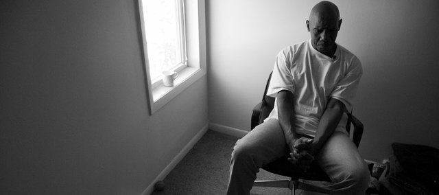 .Joe Jones sits in his sparse apartment just blocks from the capitol building in Topeka. Jones is trying to get his life together after spending nearly eight years in prison for a rape he was later cleared of through DNA evidence.