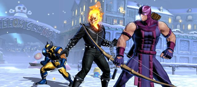 Two characters new to this entry are Ghost Rider and Hawkeye, a pair of fan favorites that deal sizable damage both in close and at range.