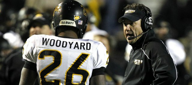 Southern Miss coach Larry Fedora.