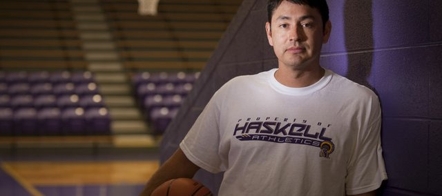 Haskell Indian Nations University women's basketball coach Shane Flanagan, a former assistant at New Mexico, took over the program from Phil Homeratha, who served as head coach since 1995 before his retirement earlier this year.