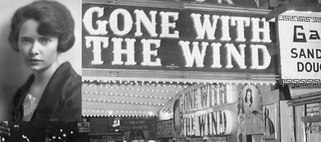 """Author Margaret Mitchell, inset, wrote """"Gone With the Wind"""" in 1936. It was her only book. A newly uncovered letter reveals why."""