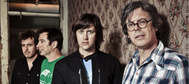 The Old 97's: from left, drummer Philip Peeples, guitarist Ken Bethea, singer Rhett Miller and bassist Murry Hammond.