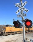 This Union Pacific crossing is northeast of Lawrence and clearly marked. The rest of the country has seen dramatic drops in train fatalities in the past two decades, but Kansas' numbers have remained steady, with about 16 fatalities per year.