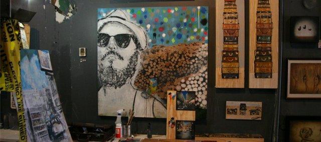 Jeromy Morris' gallery space