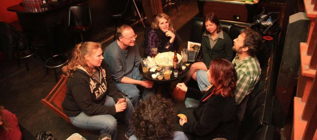 The PBR Book Club has its March meeting at the Eighth Street Tap Room.