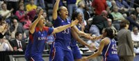 KU women advance to Sweet 16 with upset over third-seeded Delaware